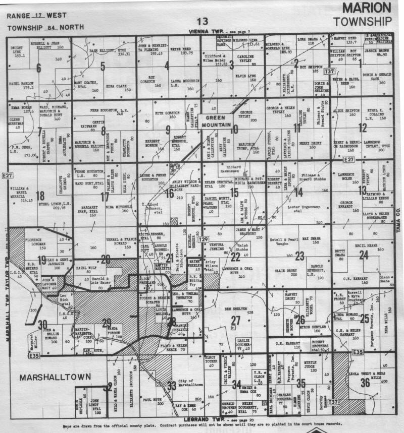 iowa county map with Mariontwp on 07archives additionally Guide in addition 1910 robinson george as well 3869110669 together with Low Hop Clover.