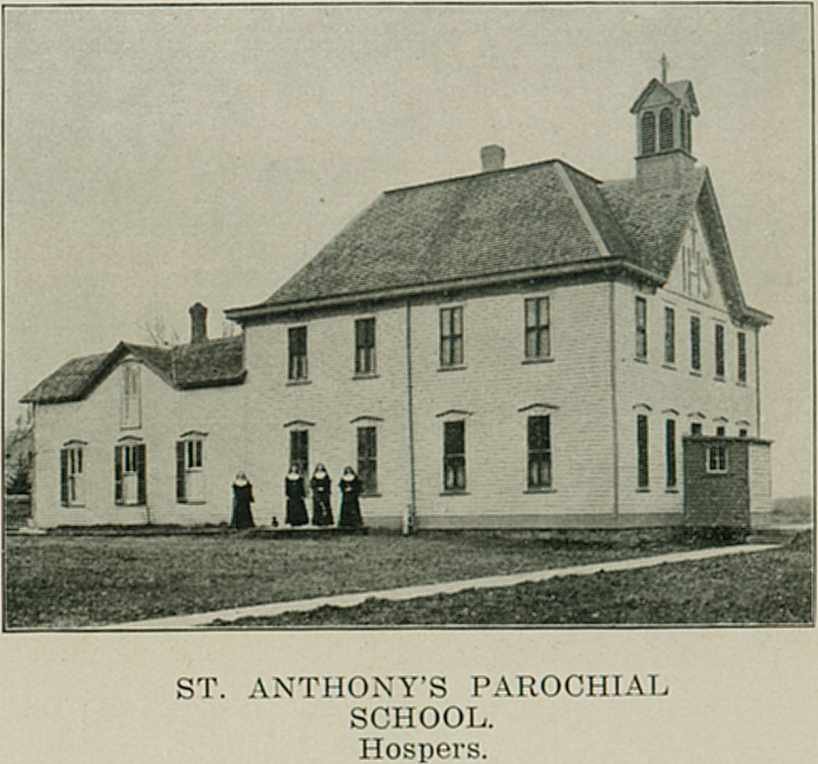 Parochial School - 1908 Atlas